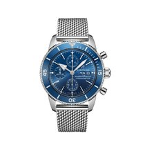 Breitling Superocean Heritage Chronograph Steel 44mm Blue No numerals United States of America, New York, New York