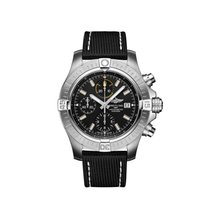 Breitling Avenger Steel 45mm Black No numerals United States of America, New York, New York