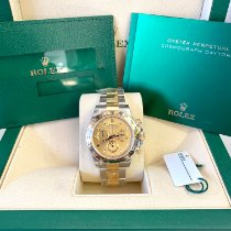 Rolex Daytona Gold/Steel 40mm Champagne No numerals United States of America, New Jersey, Woodbridge