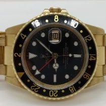 Rolex GMT-Master Yellow gold 40mm Black No numerals