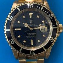 Rolex Submariner Date Or jaune Noir