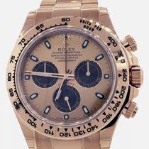 Rolex Daytona Pозовое золото 40mm Розовый Без цифр