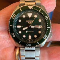 Seiko 5 Sports Steel 42.5mm Green No numerals United States of America, Virginia, Alexandria