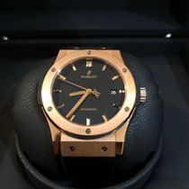 Hublot Classic Fusion 45, 42, 38, 33 mm 542.OX.1181.LR Très bon Or rose 42mm Remontage automatique France, Strasbourg , Bordeaux