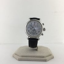 Michele Steel Quartz White 36mm pre-owned