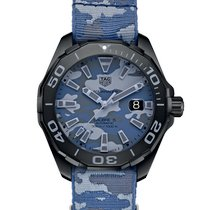 TAG Heuer Titanium Automatic Blue 43mm new Aquaracer 300M