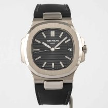 Patek Philippe Nautilus White gold 40mm Grey No numerals United States of America, Massachusetts, Boston