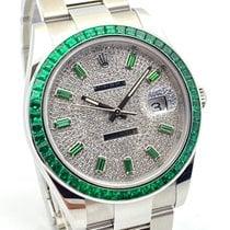 Rolex Datejust 126300 Ubrugt Stål 41mm Automatisk