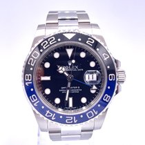 Rolex GMT-Master II 116710BLNR Muy bueno Acero 40mm Automático