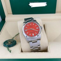 Rolex Oyster Perpetual 36 Steel 36mm Red No numerals United States of America, Florida, Miami
