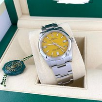 Rolex Oyster Perpetual 36 Steel 36mm Yellow No numerals United States of America, Florida, Miami
