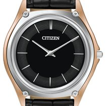 Citizen Eco-Drive One Acero 40mm Negro Sin cifras