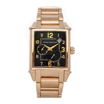 Girard Perregaux Rose gold Automatic Black Arabic numerals 32mm pre-owned Vintage 1945