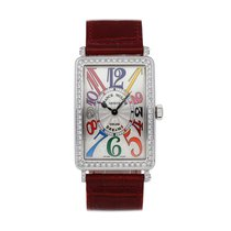 Franck Muller Color Dreams Acciaio 43mm Argento Arabi