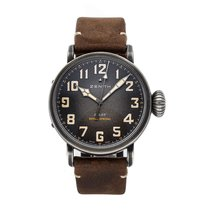 Zenith Steel Automatic Grey Arabic numerals 45mm pre-owned Pilot Type 20 Extra Special