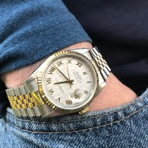 Rolex Datejust Gold/Steel 36mm Champagne Roman numerals United States of America, Florida, Pembroke Pines