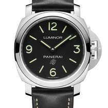 Panerai Luminor Base Logo Steel 44mm Black Arabic numerals Malaysia, Kuala Lumpur