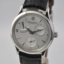Jaeger-LeCoultre Master Control pre-owned 37mm Silver Date Leather