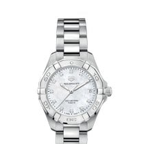 TAG Heuer Aquaracer Lady Steel 32mm Mother of pearl No numerals
