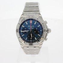 Breitling Chronomat Stahl 42mm Blau Deutschland, Berlin