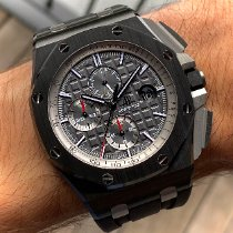Audemars Piguet Royal Oak Offshore Chronograph Ceramic 44mm Grey No numerals United States of America, Wisconsin, La Crosse