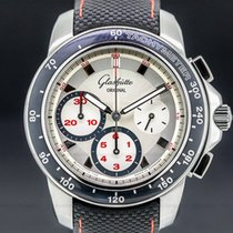 Glashütte Original Steel 46mm Chronograph 35707 pre-owned United States of America, Massachusetts, Boston