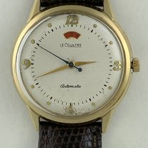 Jaeger-LeCoultre Power Reserve Bumper Automatic Good Gold/Steel 35mm Automatic
