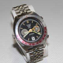 Heuer Steel 42mm Black No numerals United States of America, Florida, riverview