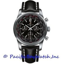 Breitling Transocean Unitime Pilot new Automatic Chronograph Watch with original box and original papers AB0510U6/BC26-1LT