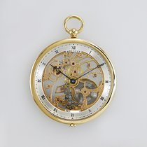 Breguet Watch pre-owned 1990 Yellow gold 50mm Roman numerals Manual winding Watch with original box and original papers