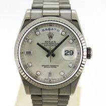 Rolex Day-Date 36 118239 Zeer goed Witgoud 36mm Automatisch