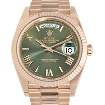Rolex Day-Date 40 neu 2020 Automatik Uhr mit Original-Box und Original-Papieren 228235