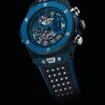 Hublot Big Bang Unico tweedehands 45mm Doorzichtig Chronograaf Datum Rubber