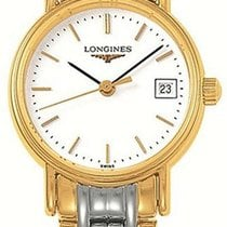 Longines Présence Gold/Steel 22.5mm White United States of America, California, Moorpark