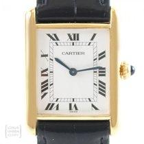 Cartier Tank (submodel) Very good Silver 23mm Manual winding