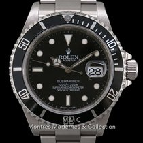 Rolex Submariner Date Acier 40mm Noir France, Paris