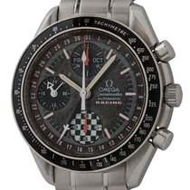 Omega Speedmaster Day Date pre-owned 39mm Black Chronograph Date Weekday Month Tachymeter