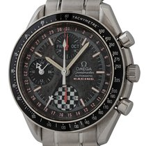 Omega Speedmaster Day Date Staal 39mm Zwart