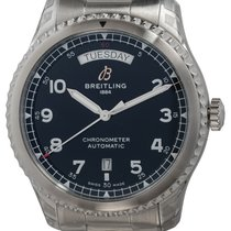 Breitling Aviator 8 Steel 41mm Black United States of America, Texas, Austin