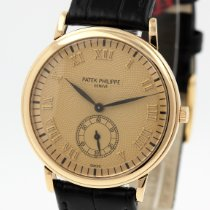 Patek Philippe Calatrava 5022J Very good Yellow gold 33.5mm Manual winding