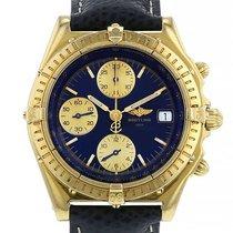 Breitling Chronomat Or jaune 39mm Bleu Sans chiffres France, Paris
