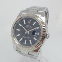 Rolex Datejust II Steel 41mm Black No numerals United Kingdom, Shrewsbury