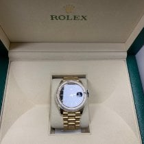 Rolex Day-Date 40 Or jaune 40mm Noir France, Levallois-Perret