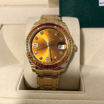 Rolex 86348SAJOR Yellow gold 2017 Pearlmaster 39mm new