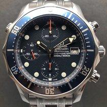 Omega Seamaster Diver 300 M Stahl 41.5mm Blau Keine Ziffern