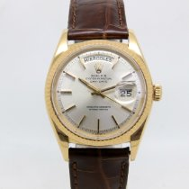 Rolex Day-Date 36 Yellow gold 36mm Silver No numerals United Kingdom, London