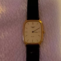 Longines Yellow gold White 30mm pre-owned DolceVita