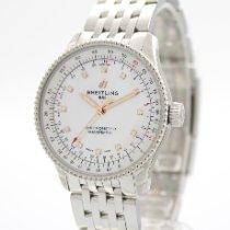 Breitling Damenuhr Navitimer 35mm Automatik neu Uhr mit Original-Box und Original-Papieren 2021