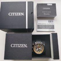 Citizen Titanium Automatic Black 50mm pre-owned Promaster Land