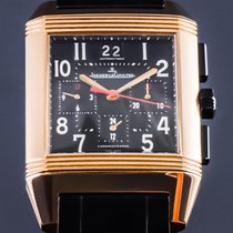 Jaeger-LeCoultre Reverso Squadra Chronograph GMT Q7012671 Very good Rose gold Automatic